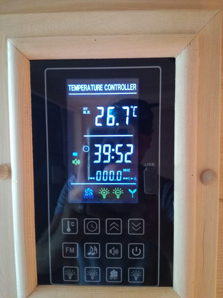 Sauna Control panel